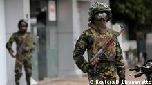 Sri Lanka | Soldaten nach Terroranschlag
