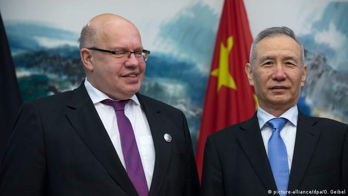 Peter Altmaier and Liu He