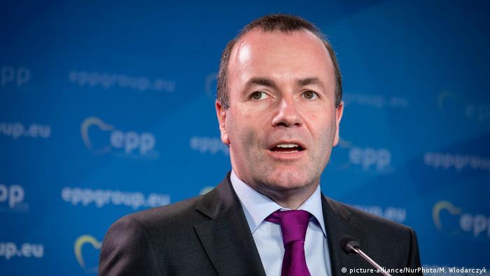 Polen l Manfred Weber bei der EPP in Warschau