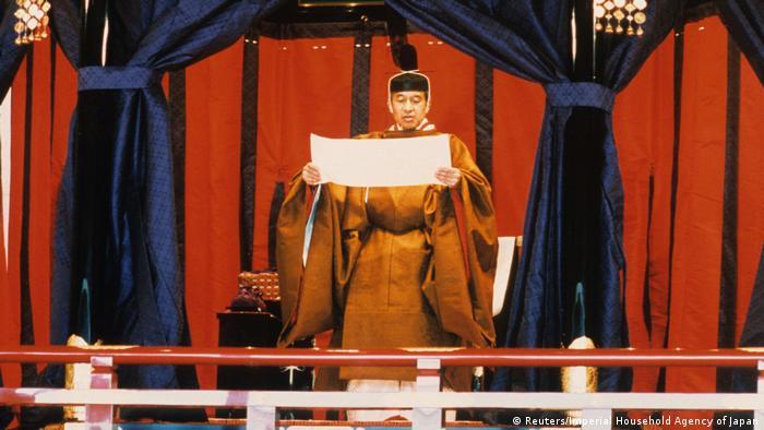 Japan - Kaiser Akihito (Reuters/Imperial Household Agency of Japan)
