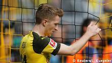 Fußball Bundesliga 31. Spieltag l BVB Dortmund vs FC Schalke 04 - Torchance Marco Reus