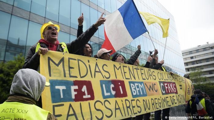Frankreich Paris - Gelbwesten Proteste (Getty Images/AFP/L. Barioulet)