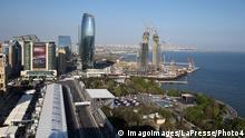 Formel 1 - Aserbaidschan-GP 2019 - Rennstrecke in Baku