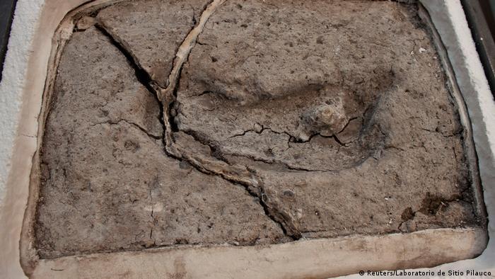 Antiker Fußabdruck aus Osorno Chile (Reuters/Laboratorio de Sitio Pilauco)