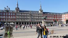 Spanien Madrid - Plaza Mayor im Zentrum