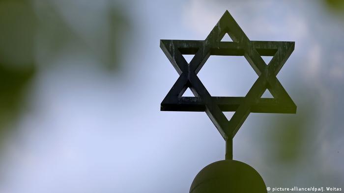 Symbolbild Judentum Davidstern