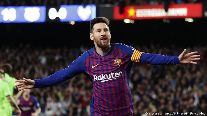 Spanien Fußball FC Barcelona - UD Levante Lionel Messi