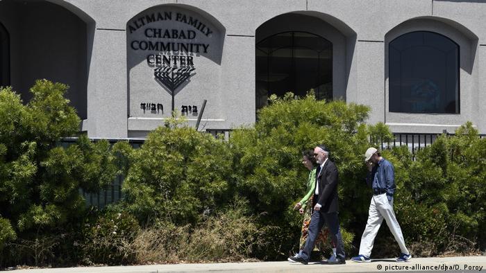 USA Kalifornien Schüsse in Synagoge