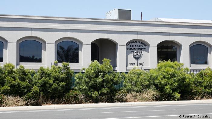 USA Kalifornien Schüsse in Synagoge (Reuters/J. Gastaldo)
