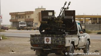 Libyen Kämpfe um Tripolis
