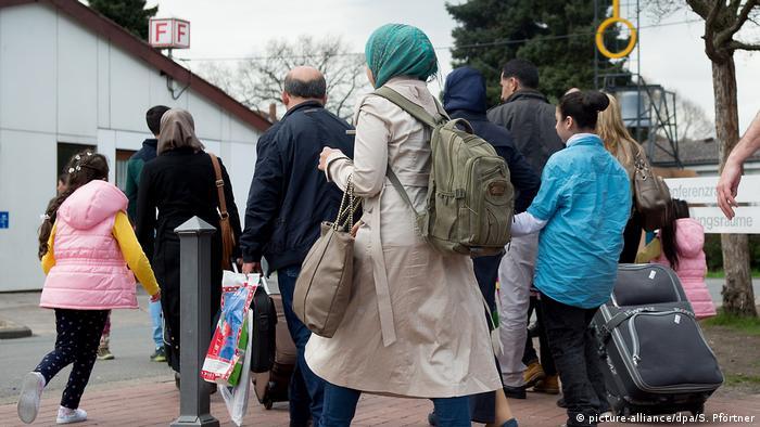 Deutschland Flüchtlinge in Niedersachsen