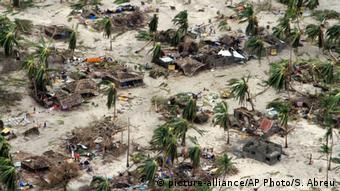 Mosambik Zyklon Kenneth Verwüstungen