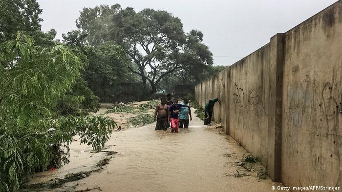 Mosambik - Überschwemmung in Pemba