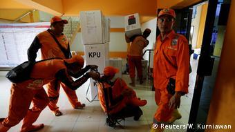 همکاران کمیته انتخابات اندونزی