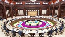 China Seidenstraße l Belt and Road Forum in Peking China Seidenstraße l Verhandlungen in Beijing l Belt and Road Forum
