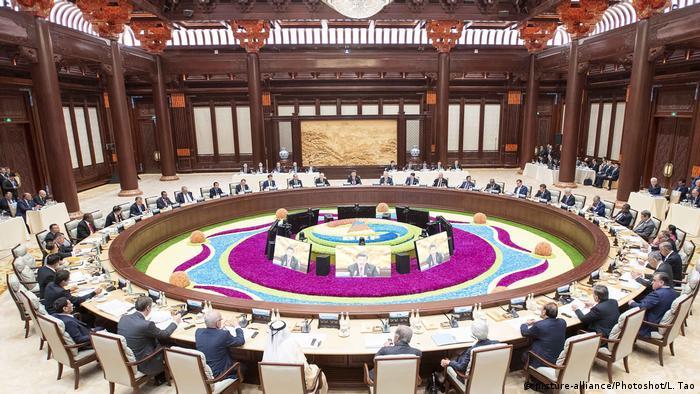 Саммит в Пекине глав государств, участвующих в проекте Новый шелковый путь, апрель 2019 года