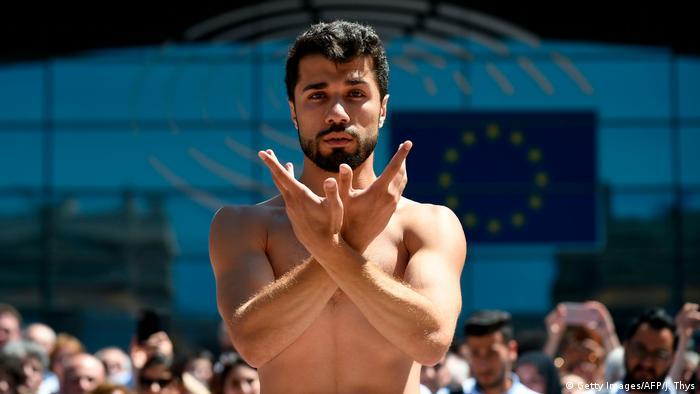 Dancer Ahmad Joudeh