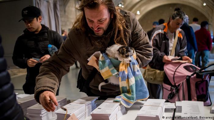 Spanien Barcelona Parlamentswahlen