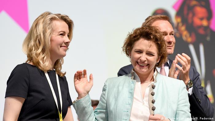 Linda Teuteberg war erst im April 2019 zur FDP-Generalsekretärin gewählt worden., (Foto: picture-alliance/dpa/B. Pedersen)