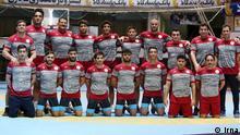 Iran Sport l Iranische Ringen-Nationalmannschaft
