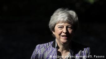 Großbritannien Premierministerin Theresa May (picture-alliance/empics/S. Pasons)