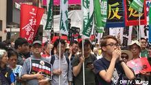 China Hongkong - Protest gegen Auslieferungsgesetz