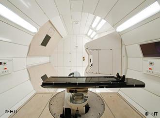 O novo aparelho traz esperança a pacientes com tumores cerebrais