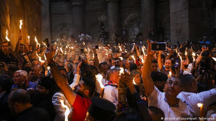Великден в Ерусалим: този година такива сцени няма да има