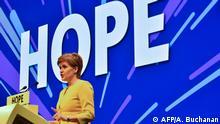 UK Schottland l Frühjahrskonferenz der SNP - Nicola Sturgeon