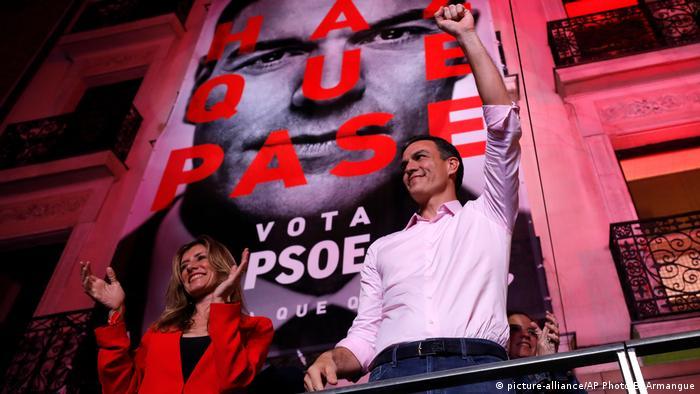 Прем'єр-міністр Іспанії Педро Санчес з дружиною