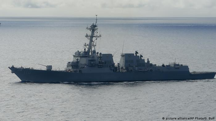 USS William P. Lawrence (picture-alliance/AP Photo/G. Bull)