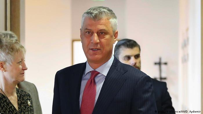 Hashim Thaci (picture-alliance/AA/D. Aydemir )