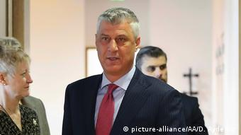 Hashim Thaci (picture-alliance/AA/D. Aydemir )