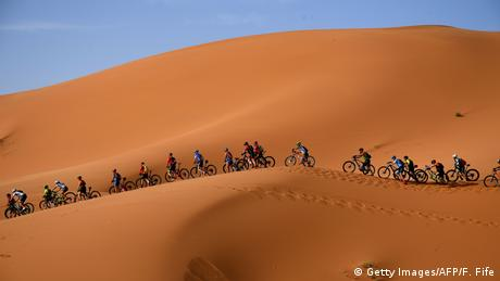BdTD Marokko Mountainbikerennen (Getty Images/AFP/F. Fife)