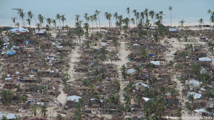 Mosambik Zerstörung nach Zyklon Kenneth (Reuters/OCHA/Saviano Abreu)