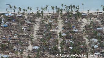 Mosambik Zerstörung nach Zyklon Kenneth