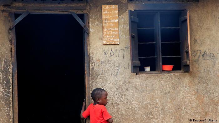 Uganda | Mariam Nabatanzi, Mutter von 38 Kindern (Reuters/J. Akena)