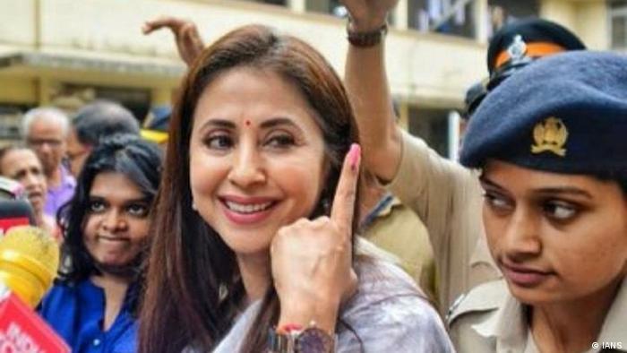 Mumbai Wahlen Prominente Urmila Matondkar (IANS)
