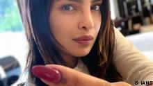 Mumbai Wahlen Prominente Priyanka Chopra (IANS)