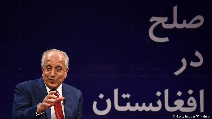 Kabul Afghanistan politische Debatte TV (Getty Images/W. Kohsar)