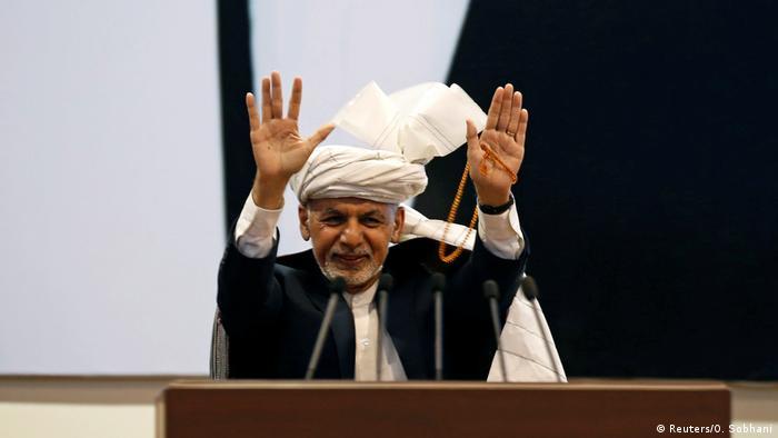 Afghanistan Peace Talks Afghanistan Loya Jirga Kabul Ashraf Ghani (Reuters/O. Sobhani)