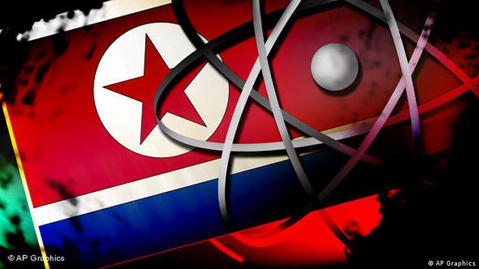 Nordkorea Symbolbild Atomkraft (AP Graphics)