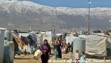 Libanon Syrische Flüchtlinge