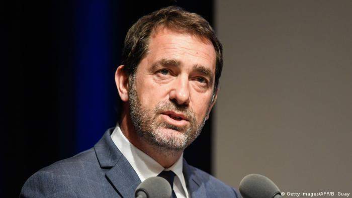 Im Visier der Polizisten: der französische Innenminister Christophe Castaner (Foto: Getty Images/AFP/B. Guay)