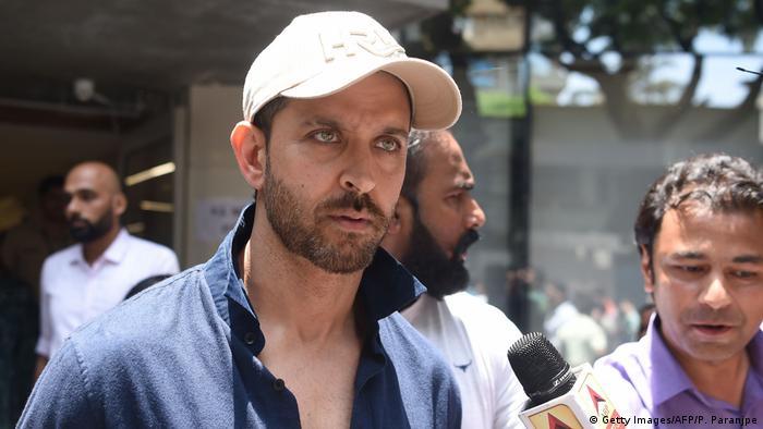 Indien Mumabi Hrthik Roshan (Getty Images/AFP/P. Paranjpe)