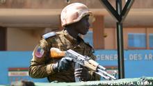 Burkina Faso Sicherheitskräfte
