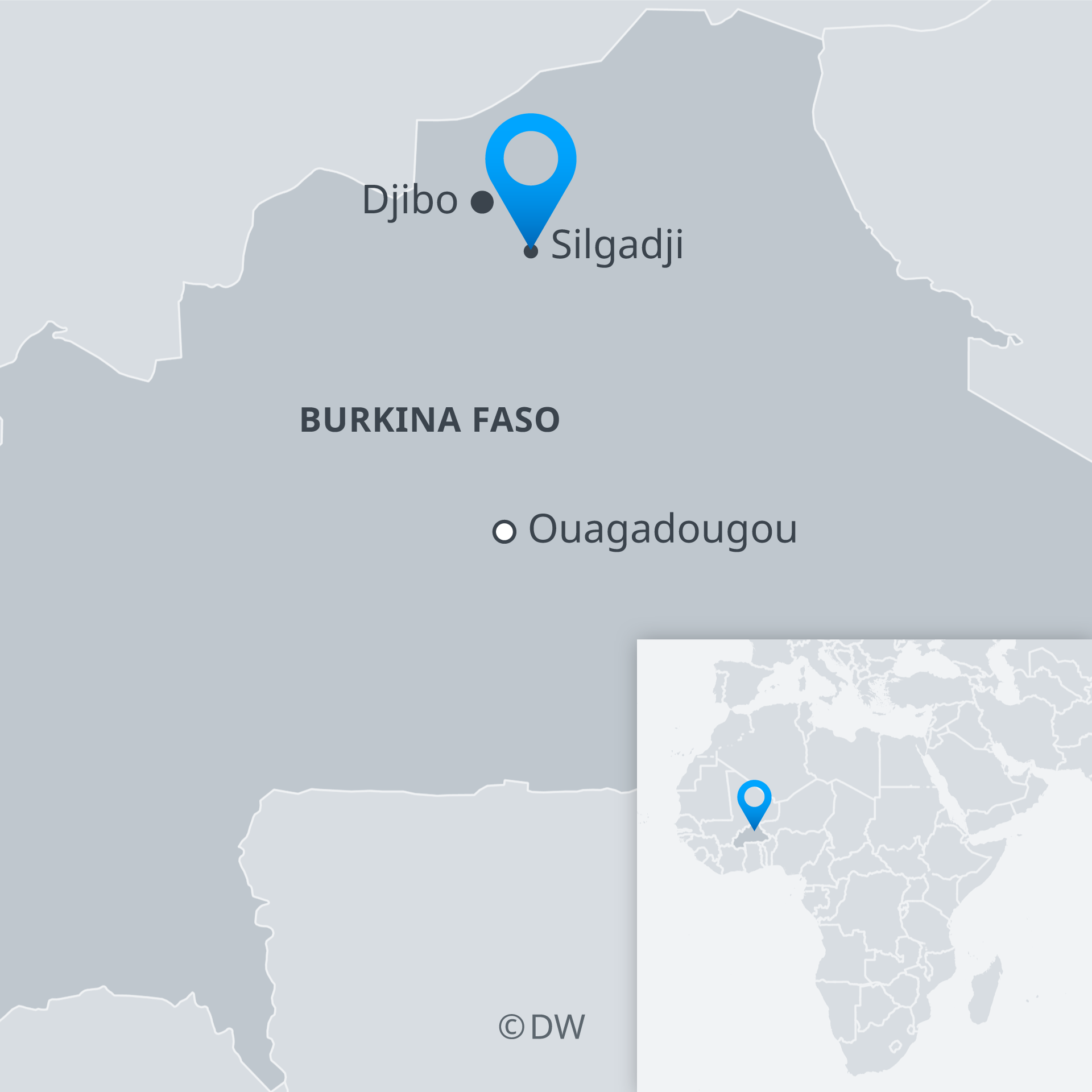At least 5 killed in suspected jihadist attack on Burkina Faso church