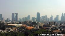 Jakarta Skyline Indonesien