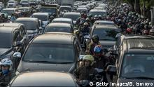 Indonesien Jakarta Rush Hour