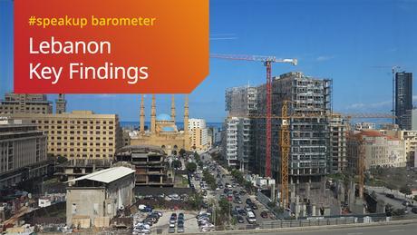 DWA DW Akademie speakup barometer Lebanon Key Findings